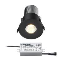 Citizen LED inbouwspot   zwart   warmwit   7 watt   dimbaar L2145