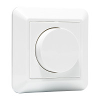 LED draaidimmer compleet | wit L2096